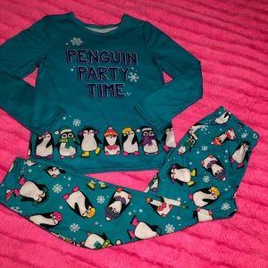 Kid's Justice penguins 2 pc pajamas 12